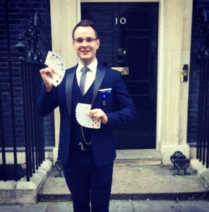 Jack Dent in Downing Street