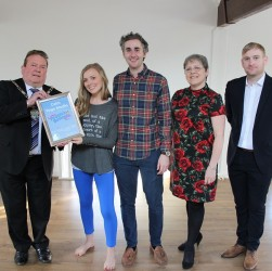 Calm Yoga wins People's Business Award