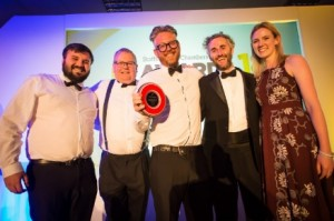 Davies+Scothorn win staffordshire chamber award