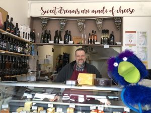 Buckie at The Cheese Station Burton on Trent