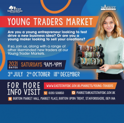 Burton Young Traders market poster